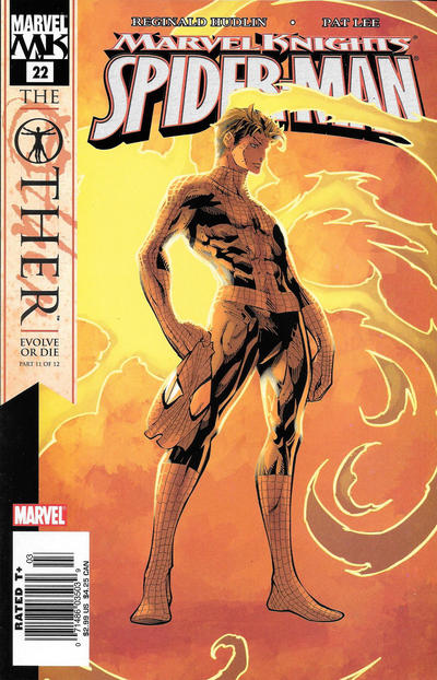 Cover for Marvel Knights Spider-Man (Marvel, 2004 series) #22 [Variant Edition - Peter Parker - Second Printing]