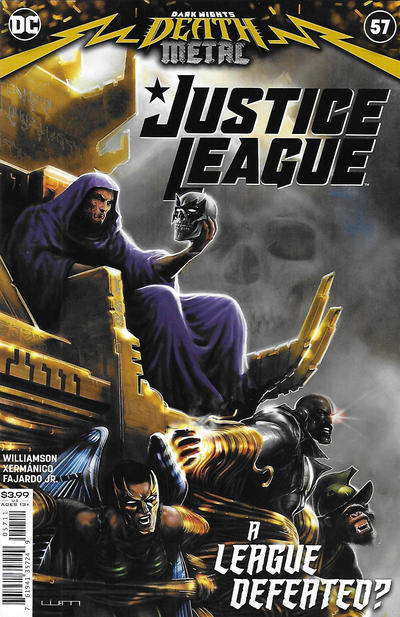 Cover for Justice League (DC, 2018 series) #57 [Philip Tan Variant Cover]