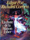 Cover for La Chute de la Maison Usher (Albin Michel, 1986 series)
