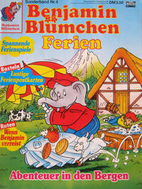 Cover Thumbnail for Benjamin Blümchen Sonderband (Bastei Verlag, 1991 series) #4