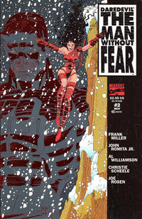 Cover Thumbnail for Daredevil The Man without Fear (Marvel, 1993 series) #2 [Newsstand]