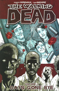 Cover Thumbnail for The Walking Dead (Image, 2004 series) #1 - Days Gone Bye [Tenth Printing]