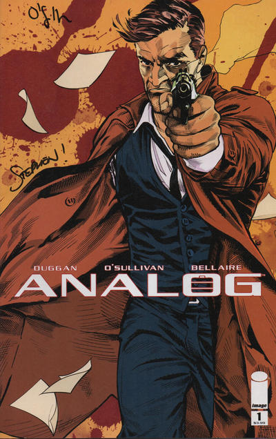 Cover for Analog (Image, 2018 series) #1 [Cover A by David O'Sullivan]