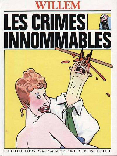 Cover for Les Crimes innommables (Albin Michel, 1983 series)