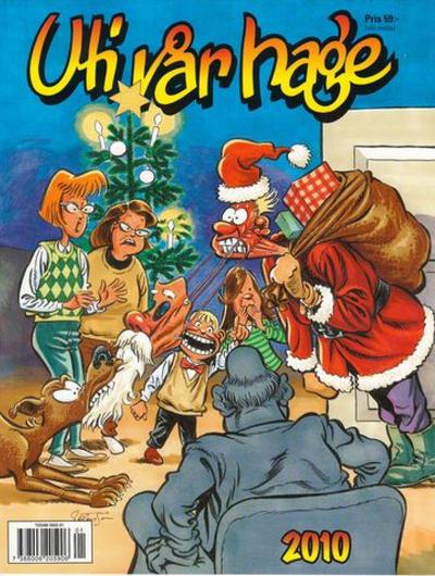 Cover for Uti vår hage [julalbum] (Bokförlaget Semic; Egmont, 2002 series) #2010