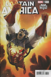Cover Thumbnail for Captain America (Marvel, 2018 series) #25 (729) [Salvador Larroca Phoenix Variant]