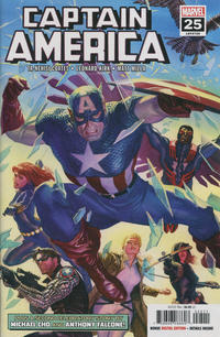 Cover Thumbnail for Captain America (Marvel, 2018 series) #25 (729)