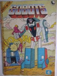 Cover Thumbnail for Gobots (Ledafilms SA, 1987 ? series) #4