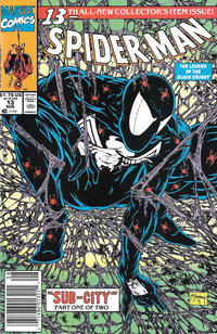 Cover Thumbnail for Spider-Man (Marvel, 1990 series) #13 [Newsstand]