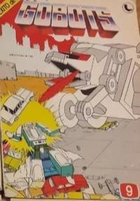 Cover Thumbnail for Gobots (Ledafilms SA, 1987 ? series) #9
