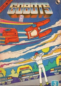 Cover Thumbnail for Gobots (Ledafilms SA, 1987 ? series) #3