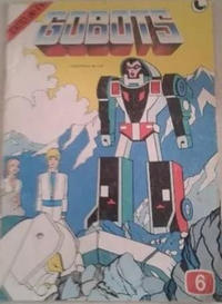 Cover Thumbnail for Gobots (Ledafilms SA, 1987 ? series) #6