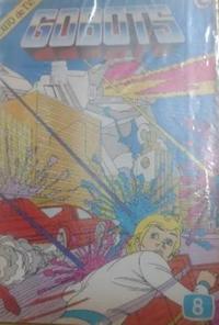 Cover for Gobots (Ledafilms SA, 1987 ? series) #8