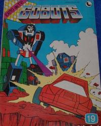 Cover Thumbnail for Gobots (Ledafilms SA, 1987 ? series) #19