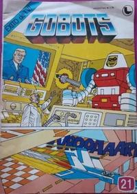 Cover for Gobots (Ledafilms SA, 1987 ? series) #21