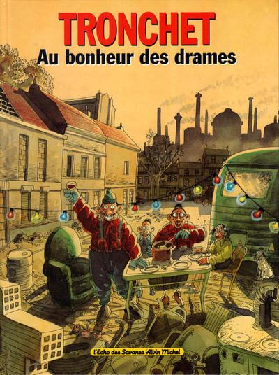 Cover for Au bonheur des drames (Albin Michel, 1994 series)