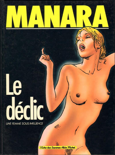 Cover for Le Déclic (Albin Michel, 1984 series) #1 [Limited Edition]