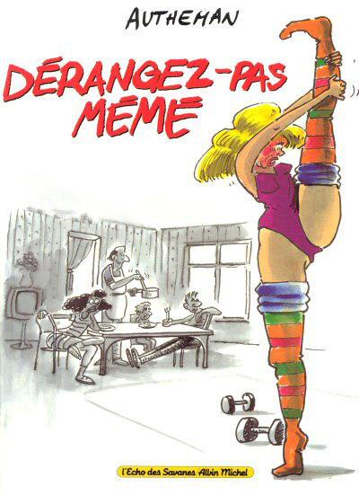 Cover for Dérangez-pas mémé (Albin Michel, 1995 series)