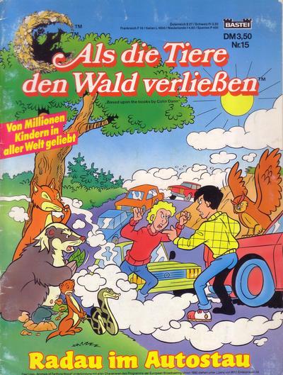 Cover for Als die Tiere den Wald verließen (Bastei Verlag, 1993 series) #15