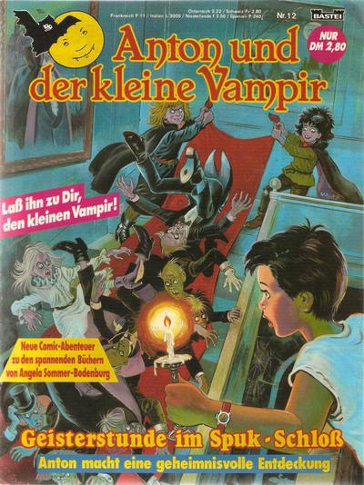 Cover for Anton und der kleine Vampir (Bastei Verlag, 1990 series) #12