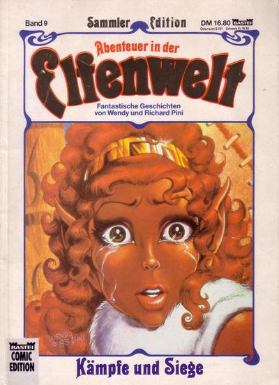 Cover for Bastei Comic Edition (Bastei Verlag, 1990 series) #72563 - Abenteuer in der Elfenwelt 9: Kämpfe und Siege