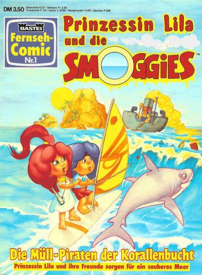 Cover for Bastei Fernseh-Comic (Bastei Verlag, 1992 series) #1