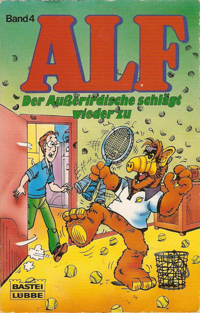 Cover for Alf (Bastei Verlag, 1988 series) #4