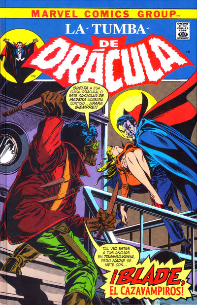 Cover for Biblioteca Drácula. La Tumba de Drácula (Panini España, 2020 series) #2 - ¡Blade, el Cazavampiros!