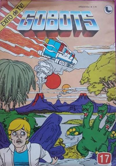 Cover for Gobots (Ledafilms SA, 1987 ? series) #17