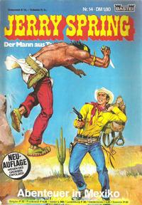 Cover Thumbnail for Jerry Spring (Bastei Verlag, 1978 series) #14