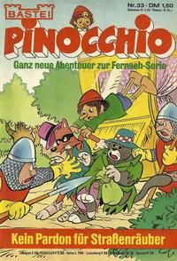 Cover Thumbnail for Pinocchio (Bastei Verlag, 1977 series) #33