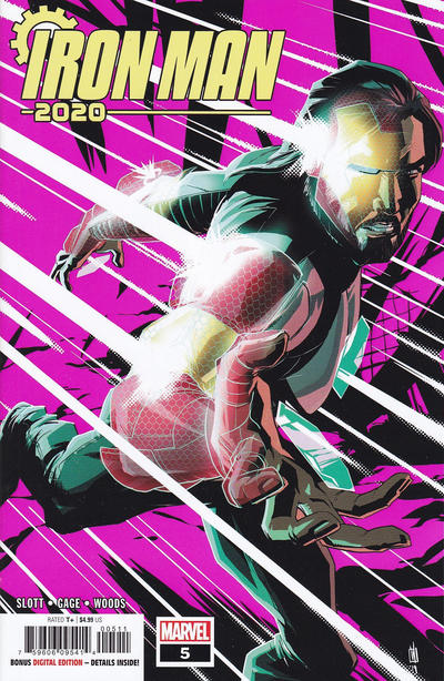 Cover for Iron Man 2020 (Marvel, 2020 series) #5