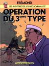 Cover for Les aventures de Jo Engo, journaliste (Albin Michel, 1986 series) #2 - Opération du 3ème type