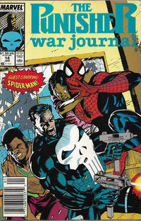 Cover Thumbnail for The Punisher War Journal (Marvel, 1988 series) #14 [Newsstand]