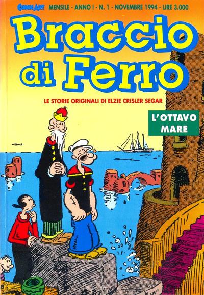 Cover for Braccio di Ferro (Comic Art, 1994 series) #1