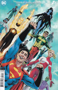 Cover Thumbnail for Legion of Super-Heroes (DC, 2020 series) #11 [Nicola Scott Cover]