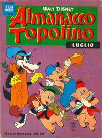 Cover Thumbnail for Almanacco Topolino (Arnoldo Mondadori Editore, 1957 series) #91