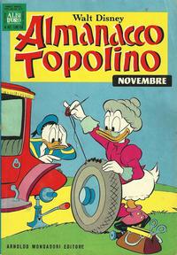Cover Thumbnail for Almanacco Topolino (Arnoldo Mondadori Editore, 1957 series) #167