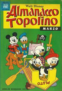 Cover Thumbnail for Almanacco Topolino (Arnoldo Mondadori Editore, 1957 series) #171