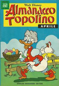 Cover Thumbnail for Almanacco Topolino (Arnoldo Mondadori Editore, 1957 series) #172