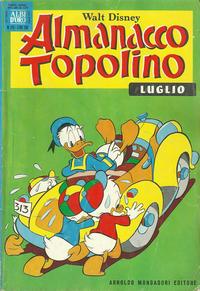 Cover Thumbnail for Almanacco Topolino (Arnoldo Mondadori Editore, 1957 series) #175