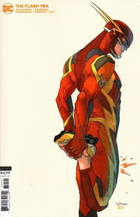 Cover Thumbnail for The Flash (DC, 2016 series) #754 [Rafael Grampá Cardstock Variant Cover]