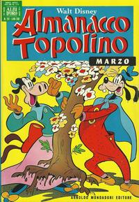 Cover Thumbnail for Almanacco Topolino (Arnoldo Mondadori Editore, 1957 series) #207