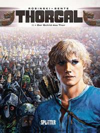 Cover Thumbnail for Thorgal (Splitter Verlag, 2011 series) #31 - Der Schild des Thor