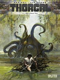 Cover Thumbnail for Thorgal (Splitter Verlag, 2011 series) #25 - Der blaue Tod