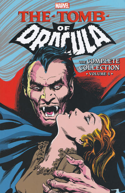 Cover for Tomb of Dracula: The Complete Collection (Marvel, 2017 series) #4