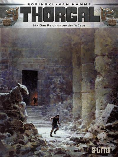 Cover for Thorgal (Splitter Verlag, 2011 series) #26 - Das Reich unter der Wüste