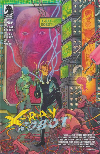 Cover for X-Ray Robot (Dark Horse, 2020 series) #2 [David Rubín  Cover]