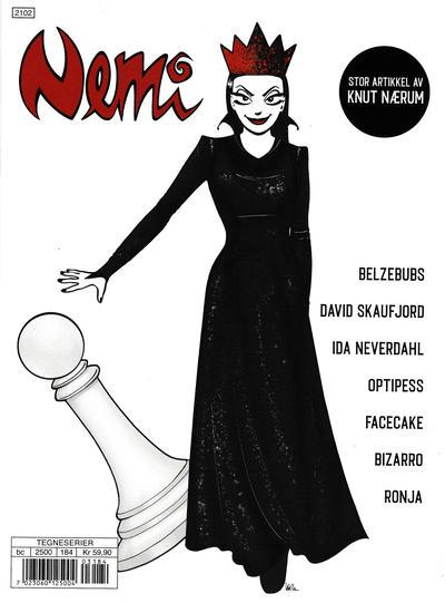 Cover for Nemi (Gyldendal Norsk Forlag, 2018 series) #184