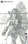 Cover Thumbnail for Wonder Woman (2016 series) #750 [Jim Lee Pencils Sketch Variant Cover]